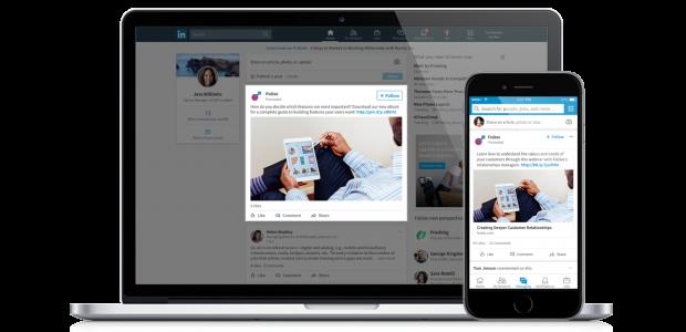 LinkedIn adverteren met sponsored content