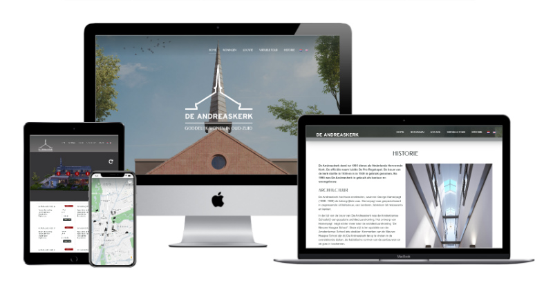 Website WordPress Vastgoedproject