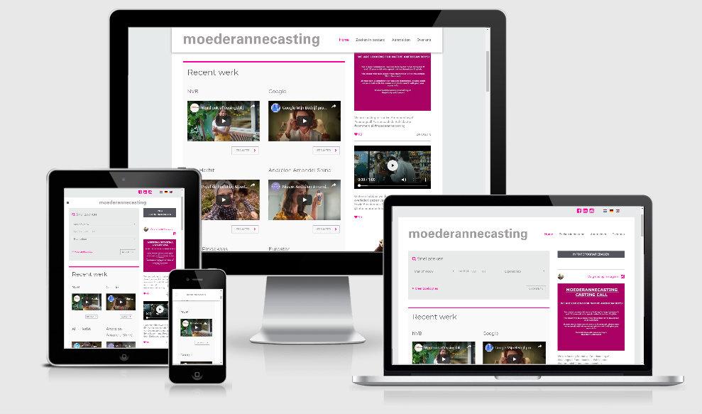 website laten maken mobiel wordpress joomla